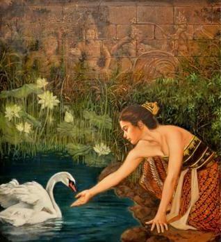 Josephine Linggar - Gadis Bali dan Angsa