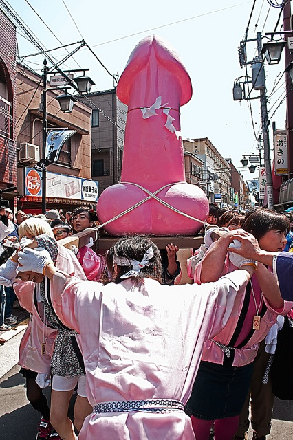 kanamara Matsuri, el festival Japonés del Pene