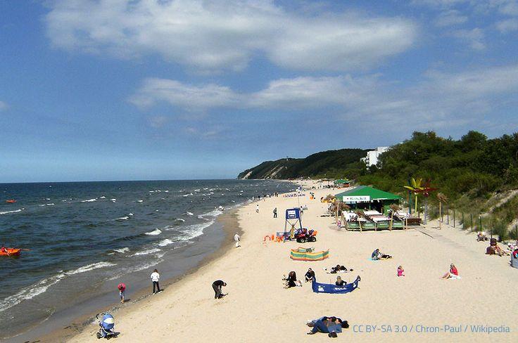 Misdroy (polnisch Międzyzdroje) hat ca. 5500 Einwohner und ist einer der bekanntesten Badeorte an der polnischen Ostseeküste.