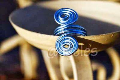 Las creaciones de @ngeles: Anillo de alambre