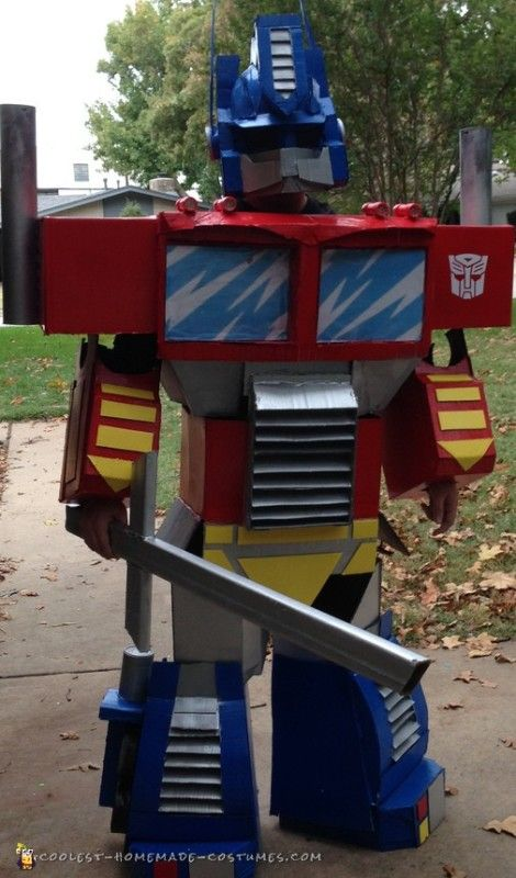 AUTOBOTS, ROLL OUT! Optimus Prime Transformer Costume