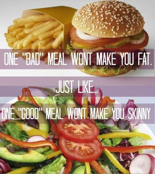 Op gewicht blijven doe je zo!