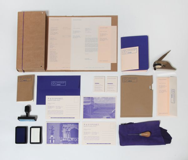 Passport Branding by Passport , via Behance
