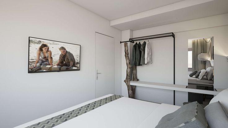 Nisos Junior Suite - Bedroom, Elakati Luxury Boutique Hotel, Rhodes , Greece