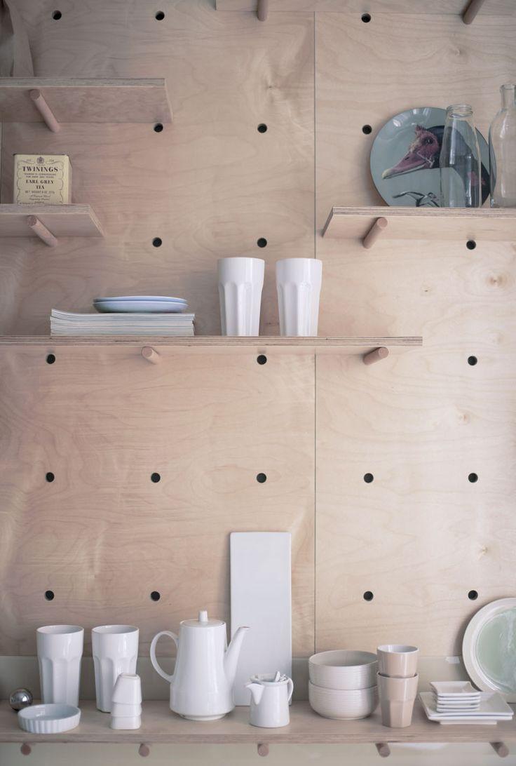 30 m² optimisés   MilK decoration Un studio hongrois aménagé par Position Collective