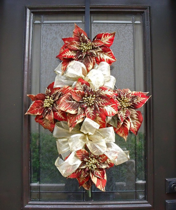 Christmas Grave Decorations Uk: 75 Best Cemetery Decorations Poinsettia Images On