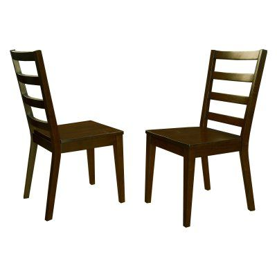 A-America Brooklyn Heights Ladderback Side Dining Chair - Set of 2 - AAME475