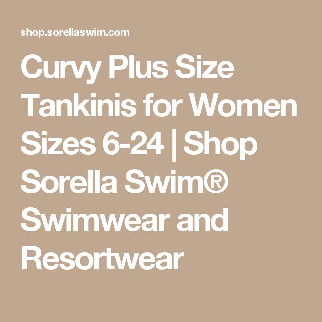 Curvy Plus Size Tankinis for Women Sizes 6-24 | Shop Sorella Swim® Swimwear and Resortwear