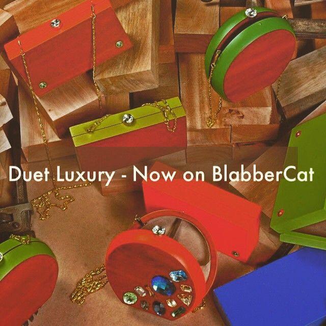 BlabberCat unveils the wooden story of 'Duet' luxury clutches and much more .... @duetluxury @mundhra123 @rajshreesaraf @jabongindia @lakmefashionwk #stylepick #fashionstory #latest #trending #kolkatafashionscene #bags #clutches #whattacollection #touchwood