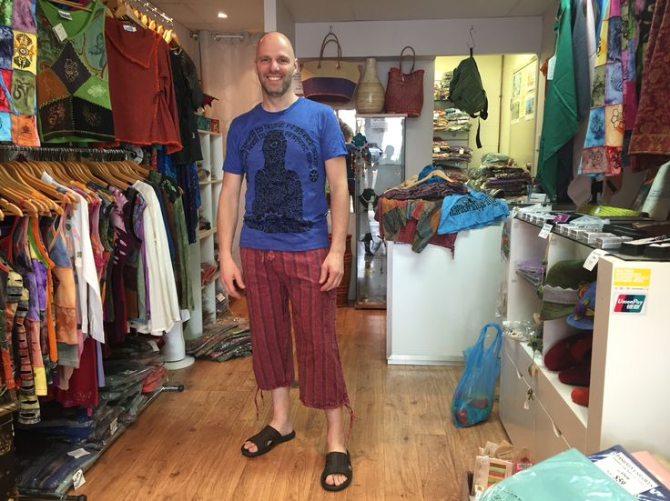 Vincent from Arnhem, The Netherlands is very happy to have these clothing #NepaleseClothing #HippieClothing #Pashmina #Felts