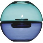 Sagaform Shine Tealight Holder Turquoise Blue