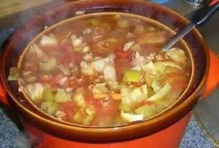 CABBAGE SOUP WITH HAMBURGER ~ cooking Of all time