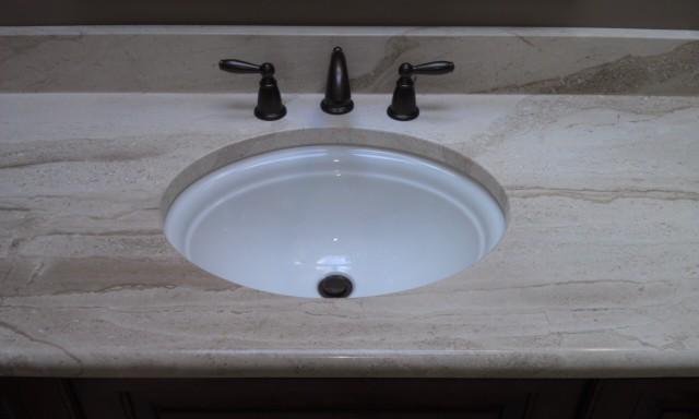 Undermount Sink Granite Countertop Bathroom Fixtures Pinterest