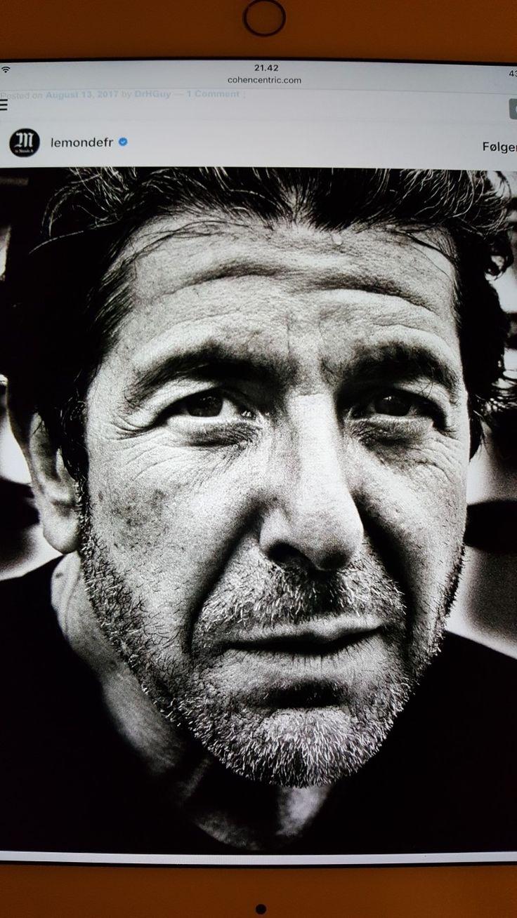 wot a shot of Leonard Cohen. Photo by Richard Dumas