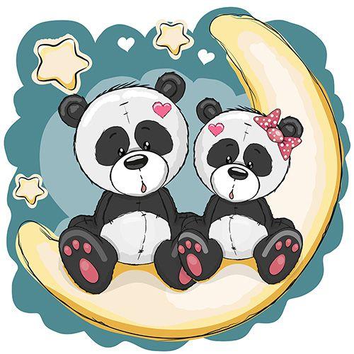 Детские картинки с милыми животными (24 шт.) + исходники | Скрапинка - дополнительные материалы для распечатки для скрапбукинга