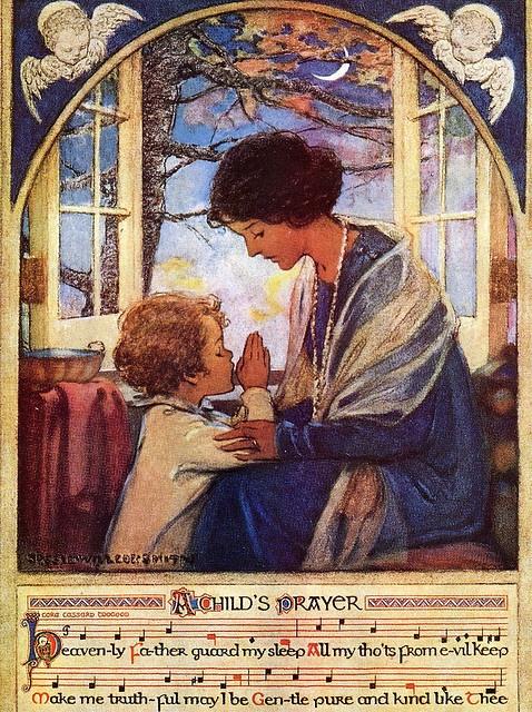 A Child's Prayer by Jessie Willcox Smith, 1920's