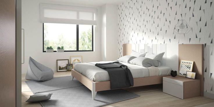Dormitorio moderno (1066 – D4) - Muebles CASANOVA