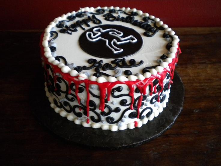 Murder Mystery Cake Birthday Cakes Pinterest Murders