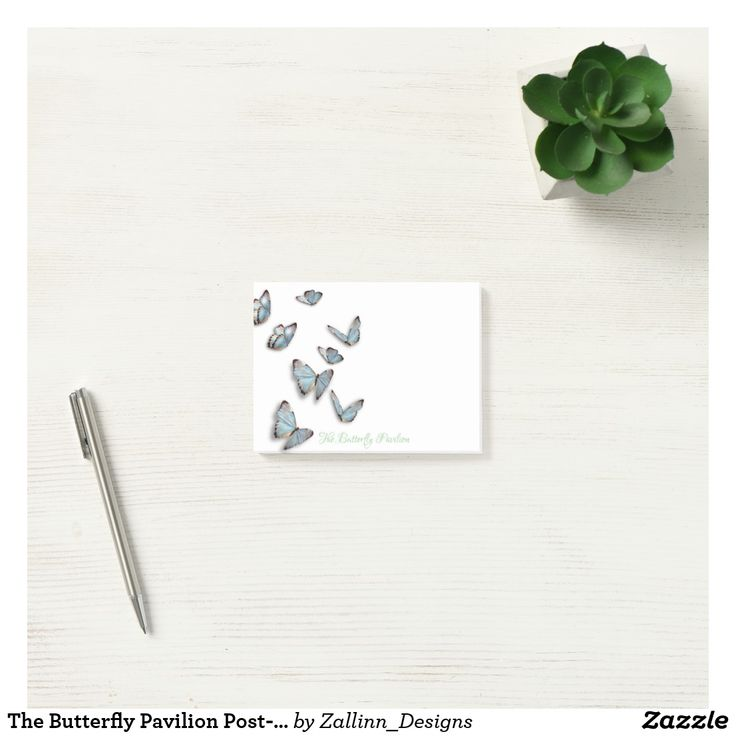 The Butterfly Pavilion Post-it 4x3 Post-it Notes