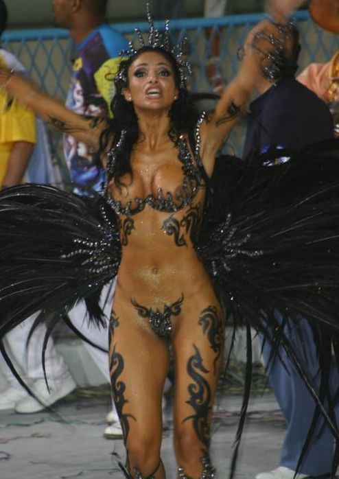 hot nude brazil costume