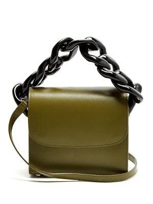Oversized curb-chain leather shoulder bag | Marques'Almeida | MATCHESFASHION.COM