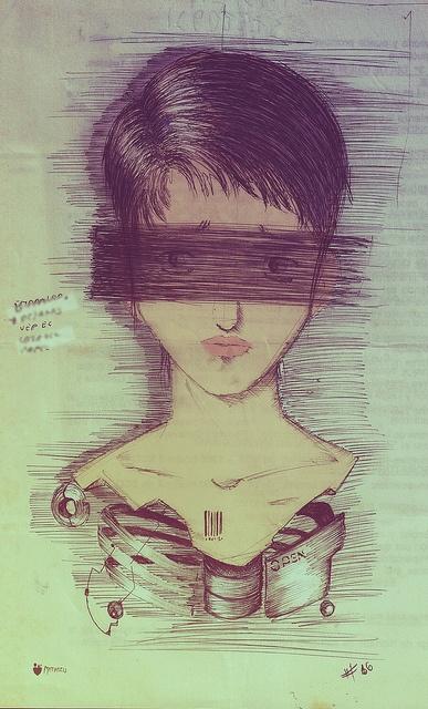 #16 - ilustración - (tinta+digital)_ by MATIATZU, via Flickr