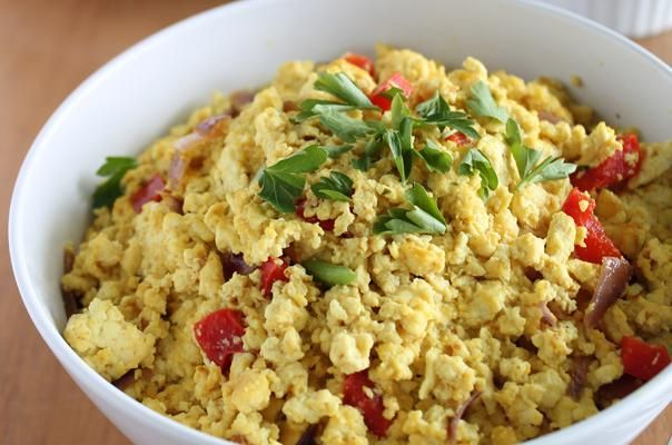 53 healthy tofu recipes - breakfast, lunch and dinner!  (Great tofu scramble recipes in here for breakfast)