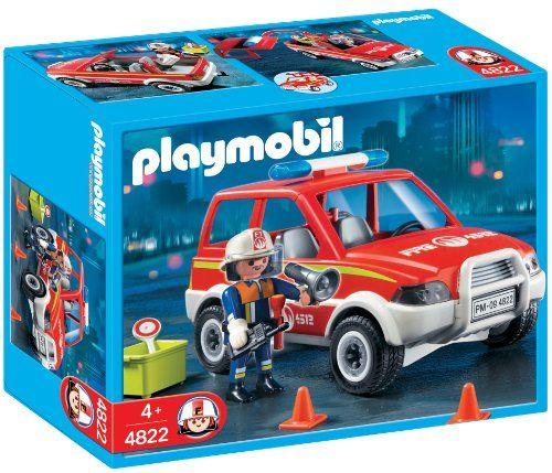 Playmobil - 4822 - Jeu de construction - Voiture de pompier Playmobil http://www.amazon.fr/dp/B0021ZQP2Y/ref=cm_sw_r_pi_dp_Grjpwb1XHVTV5