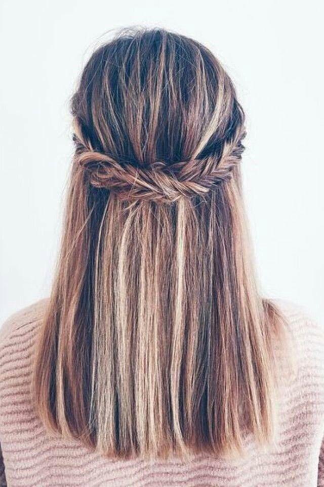 Pin Von Lisa Senske Auf Haare Frisuren Glatte Haare Frisuren