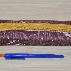 Trousse ethnique batik avec le tissu coton