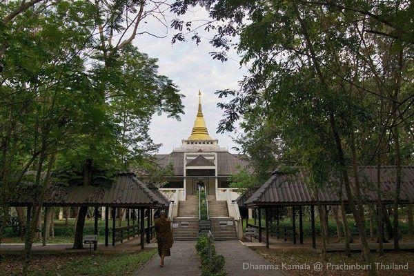 Vipassana Meditation Center Dhamma Kamala Prachin Buri Thailand