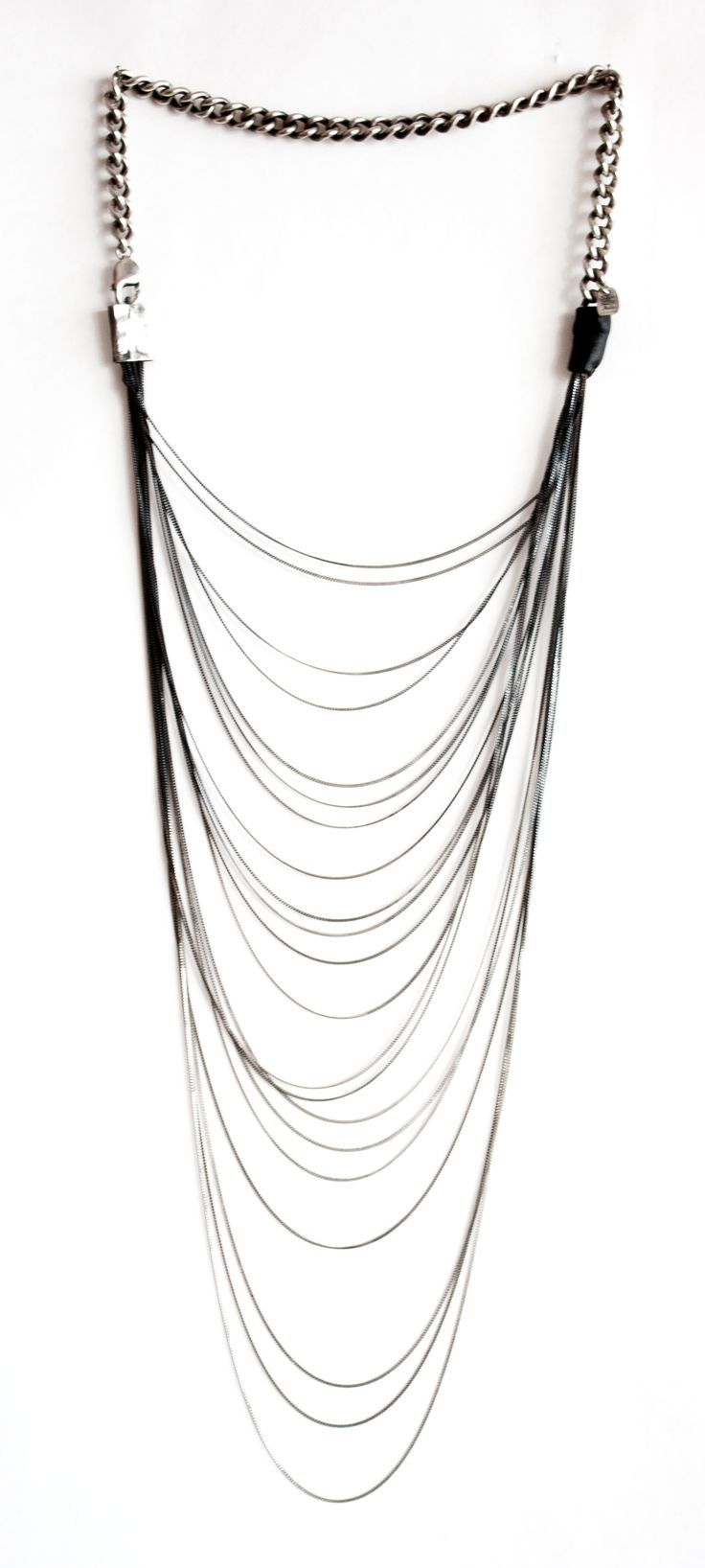 """CLEOFE""  silver 925 necklace - brand DANIELE BASTA"