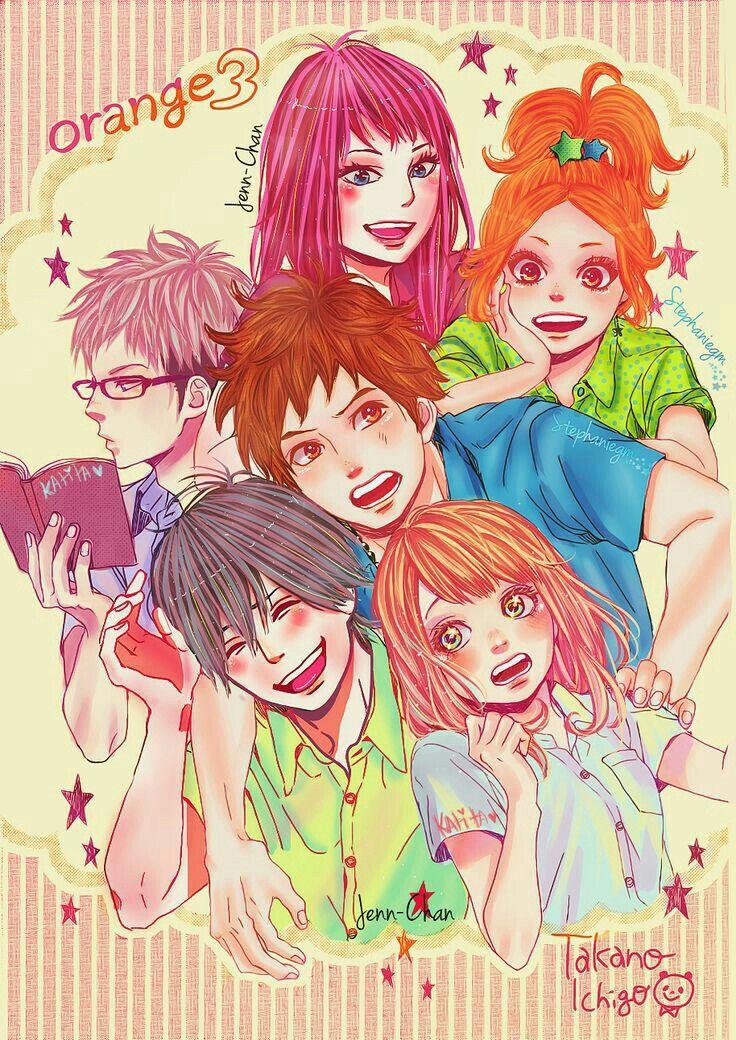 Orange anime manga arte de anime fanart