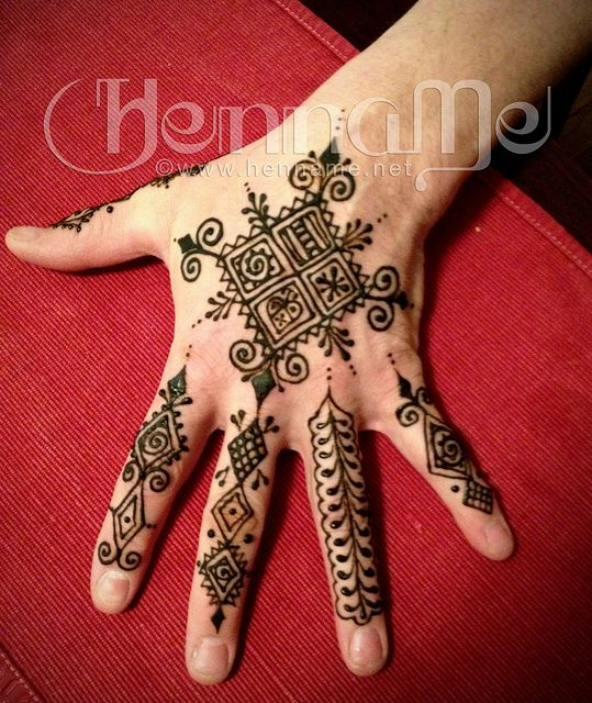 Moroccan Mehndi Patterns : Moroccan mehndi designs for hands makedes