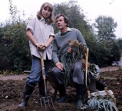 The Good Life - once again the British get it way before we do - (sub)urban agriculture back in the 70's!