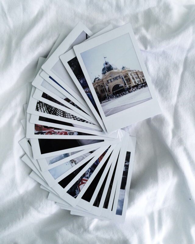 The best way to safe memories. #polaroid