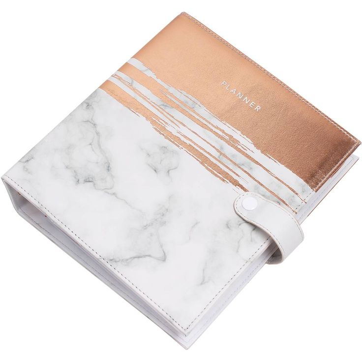 Noted Marble And Rose Gold Luxury Planner | Hobbycraft