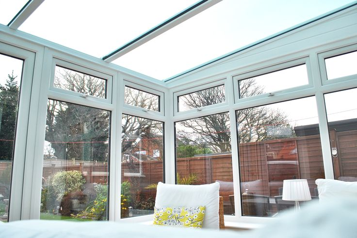 We installed this stunning installation over in Redcar, Its a beautiful Conservatory, with our Glass Lean-too roof System, installed with the Activ Self-cleaning Glass! We love how the customer has opted to keep this conservatory clean and crisp with white decor and pops of yellow, creating a inviting and bright space.