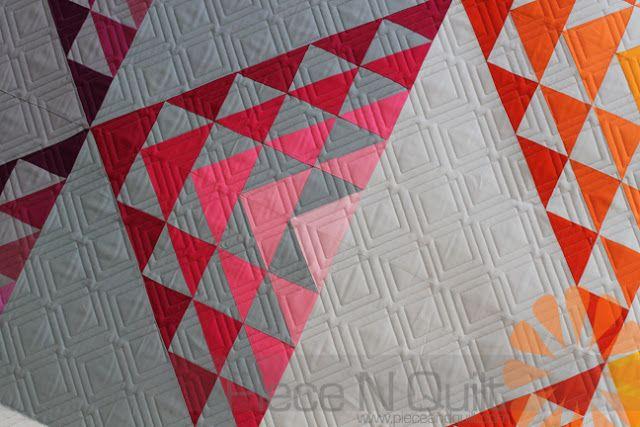 Piece N Quilt: At Dusk Quilt - Edge to Edge Machine Quilting by Natalia Bonner