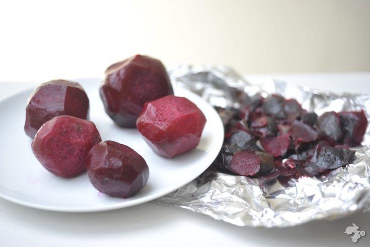 recept salade geroosterde biet granaatappel walnoten