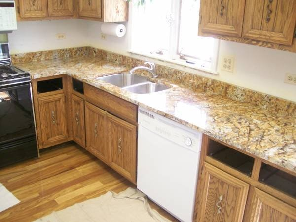 Light Colors For Granite Countertops : Granite countertops in your kitchen will infuse color and
