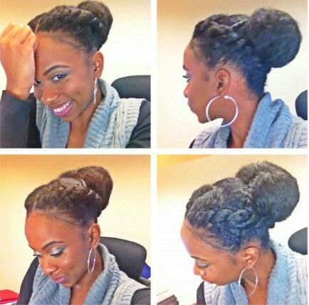 Amazing 1000 Images About Winter Protective Styles Updo39S On Pinterest Short Hairstyles Gunalazisus