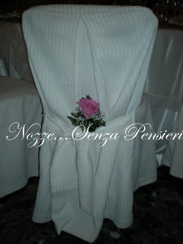 Decorazione Sedie Matrimonio Wedding chairs detail