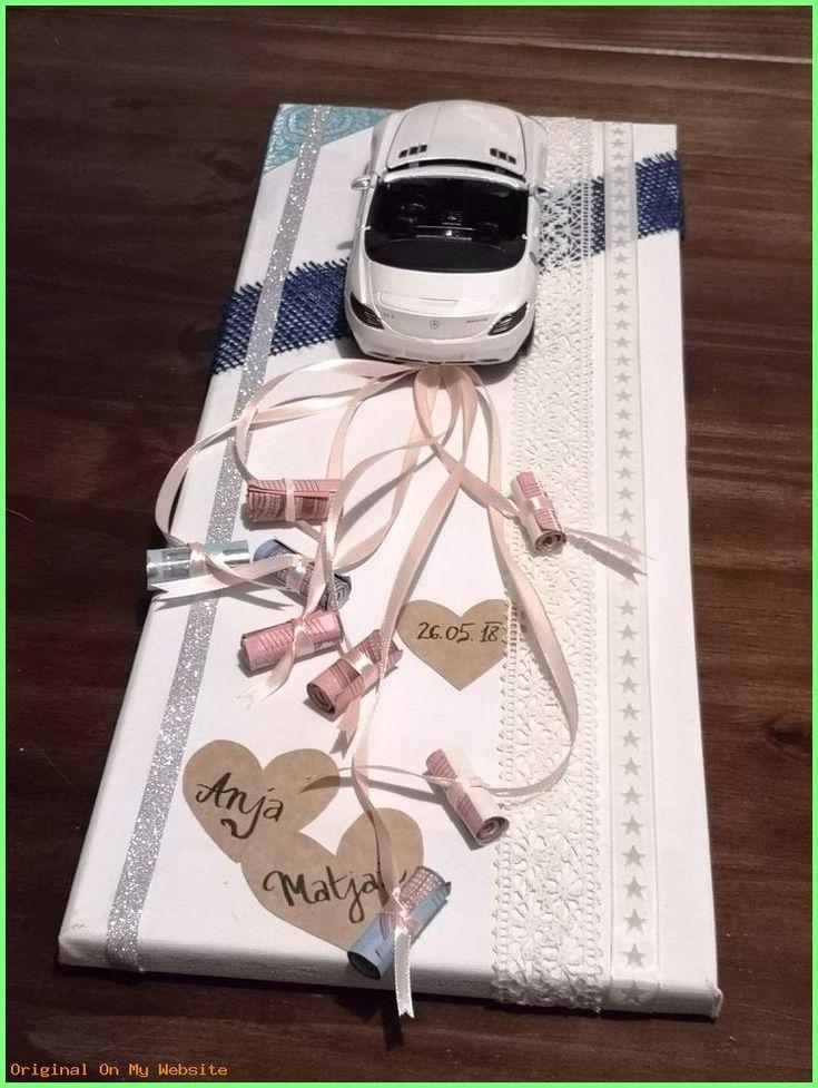 Geschenke Verpacken – Wedding gift I did for my friends. Creative way to give money. – #gesc…