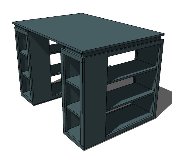 Mod modular craft table 18