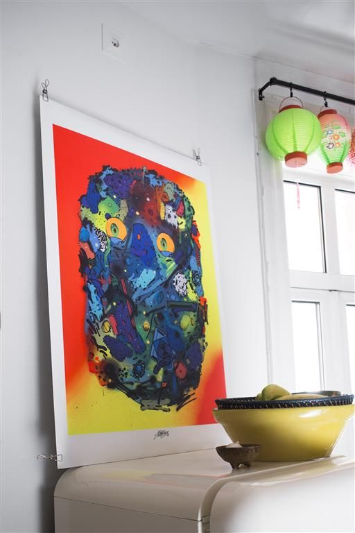 IKEA ART EVENT 2015 poster CHF 9.95 Motif created by Nikola & Ivan Gajic aka Sobekcis. Double-sided adhesive tape for mounting the picture to the wall is included. Paper. W70×H100cm. 102.887.70
