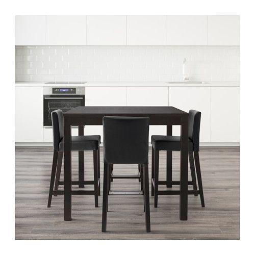BJURSTA / HENRIKSDAL Bartafel en 4 barkrukken  - IKEA