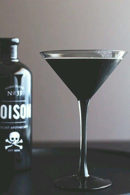 Imagen de poison, black, and drink