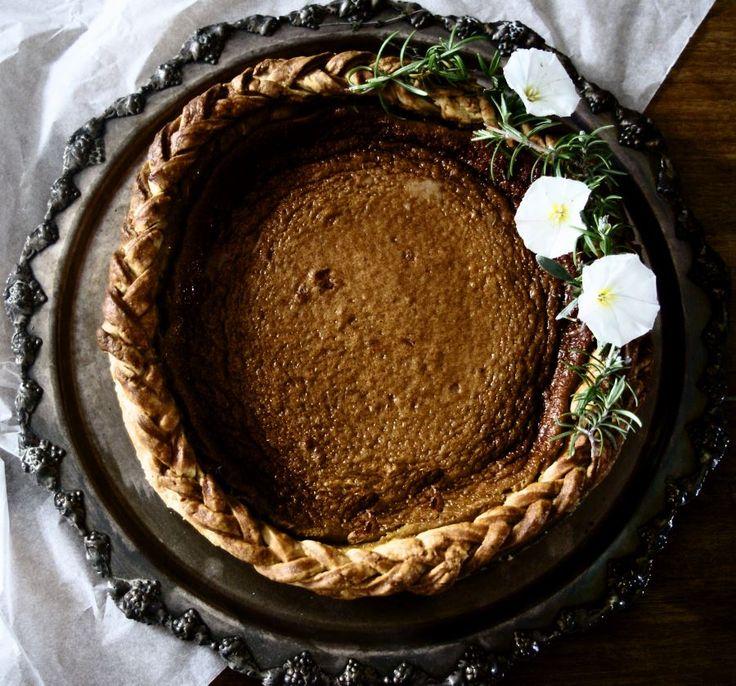 Brown Butter Rosemary Honey Pie by Burnt Butter Bakery