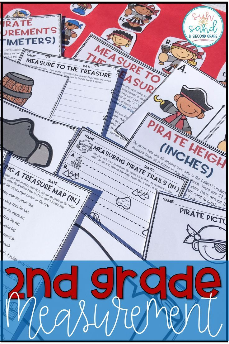 I was tired of the same old measurement activities...these are new and fun, and perfect for second grade!! These measurement activities are awesome for 2nd grade!!